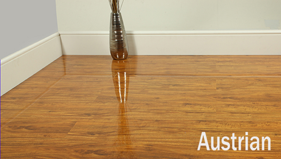 Super High Gloss Laminate Flooring Cheapest in UK  eBay