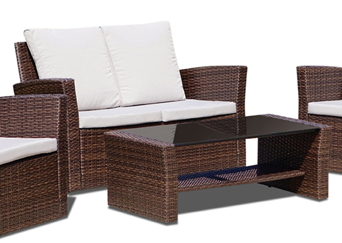 new rattan wicker weave garden furniture patio